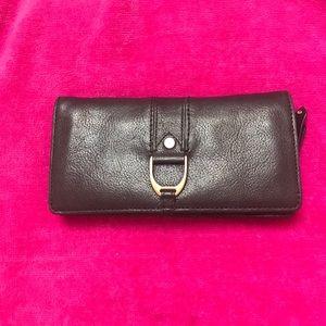 Cole Hann black leather wallet